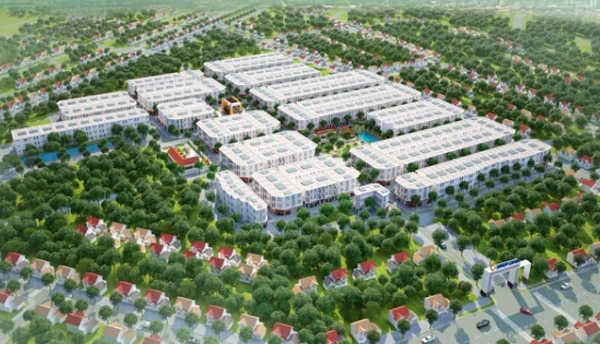 Phối cảnh Dự án Sunview Central Bình Phước