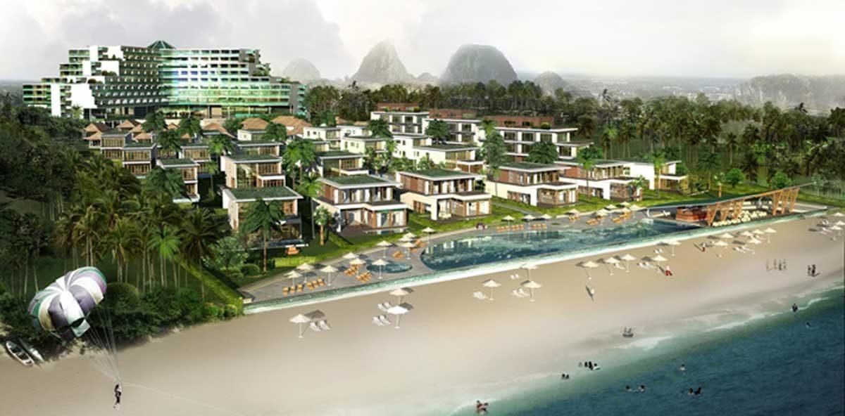 phoi canh du an non nuoc beach da nang - DỰ ÁN BIỆT THỰ BIỂN NON NƯỚC ĐÀ NẴNG