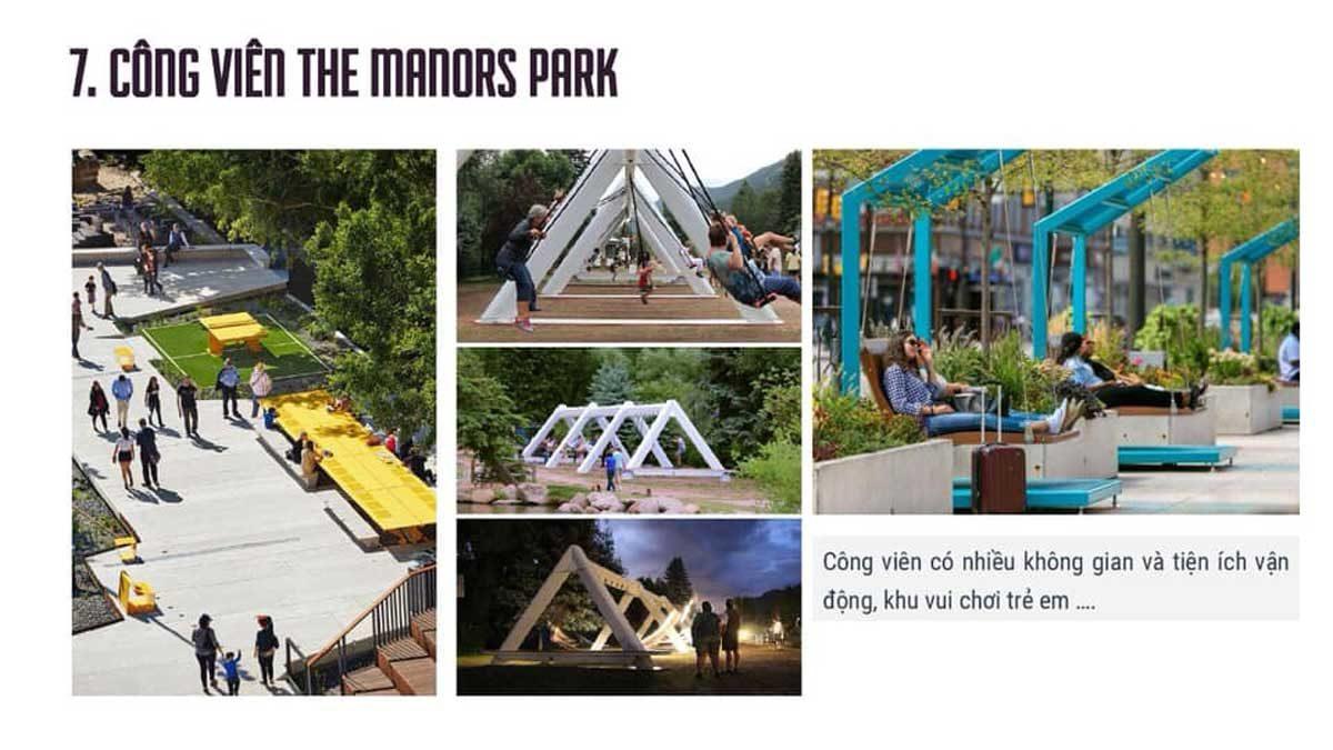tien ich cong vien the manors park flc legacy kontum - DỰ ÁN FLC LEGACY KONTUM