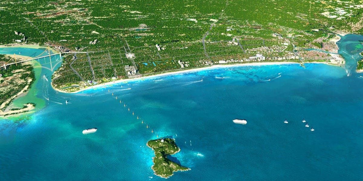 toan canh du an cua lo beach villa - DỰ ÁN BIỆT THỰ CỬA LÒ BEACH VILLA NGHỆ AN