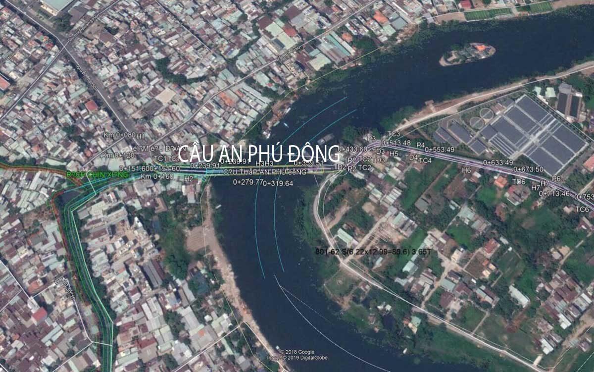 vi tri cau an phu dong - Biên độ tăng giá Bất động sản Quận 12 còn rất lớn