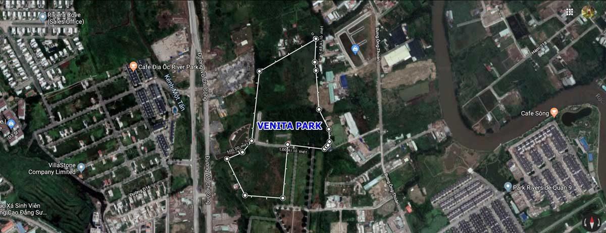 Vị trí Dự án Verosa Park Khang Điền Quận 9