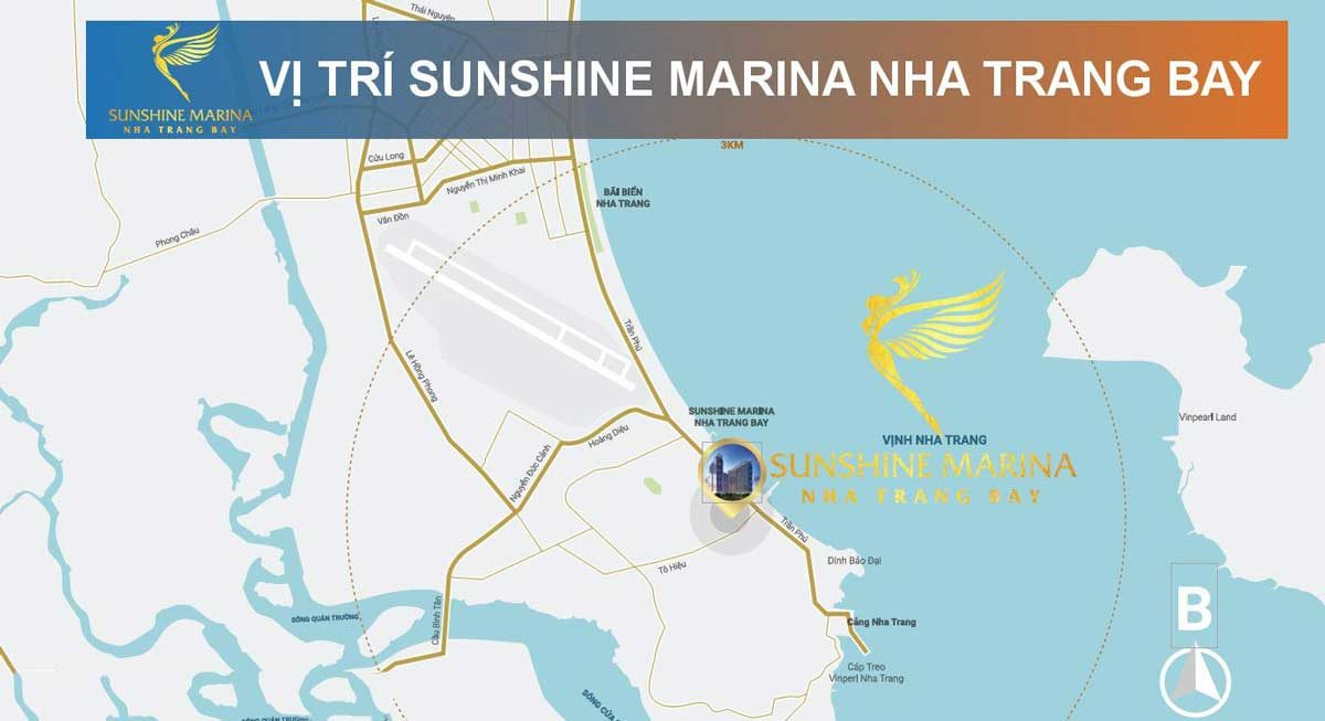 vi tri sunshine marina nha trang bay - DỰ ÁN CĂN HỘ SUNSHINE MARINA NHA TRANG BAY