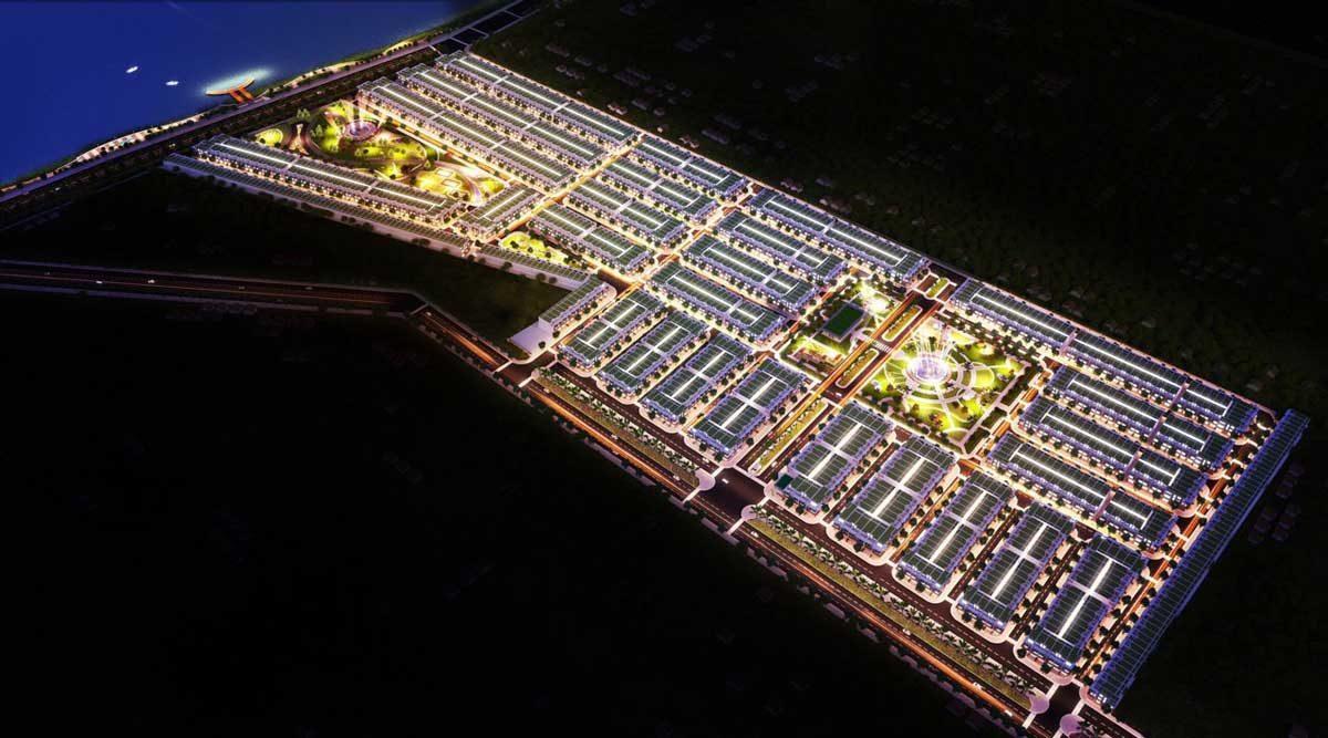 Dự án Hiệp Phước Harbour View Long An Về Đêm - DỰ ÁN HIỆP PHƯỚC HARBOUR VIEW LONG AN