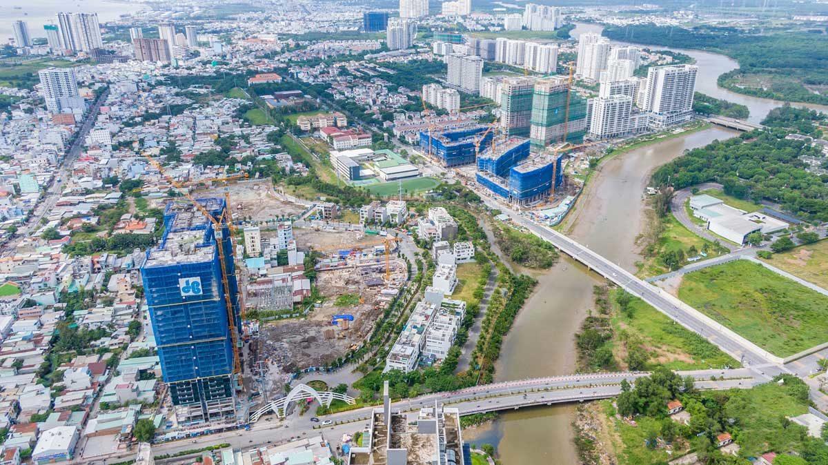 Khu Nam trở thành một trong những địa điểm thu hút nhiều nhà đầu tư bất động sản - DỰ ÁN CĂN HỘ WEST GATE BÌNH CHÁNH