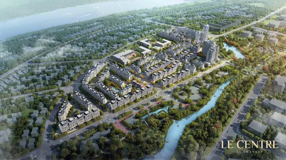 Le Centre SwanBay - CÔNG TY XÂY DỰNG AN PHONG