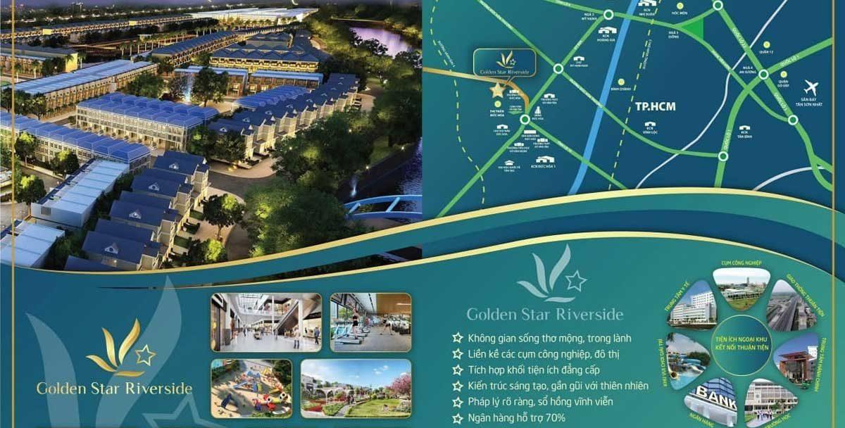 Tien ich Golden Star Riverside - DỰ ÁN GOLDEN STAR RIVERSIDE ĐỨC HÒA LONG AN