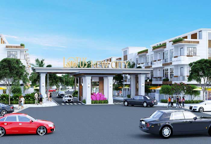 du an Lotus New City - DỰ ÁN LOTUS NEW CITY CẦN ĐƯỚC LONG AN