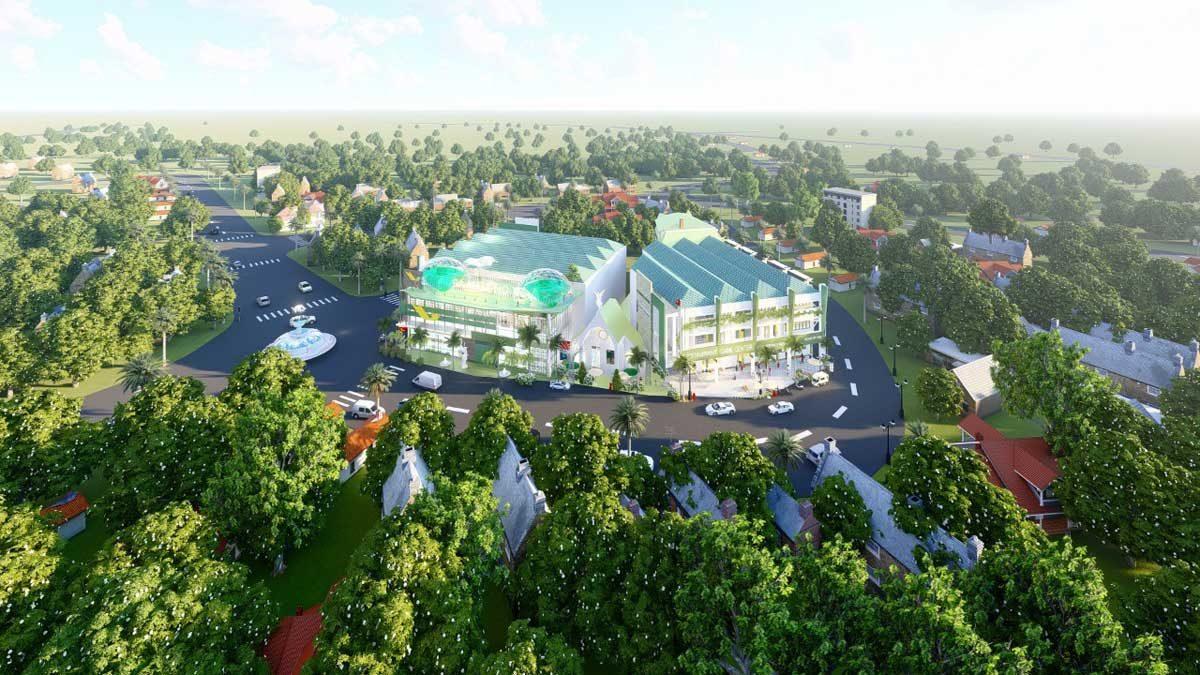 Phối cảnh Dự án Mega Mall Hồ Tràm