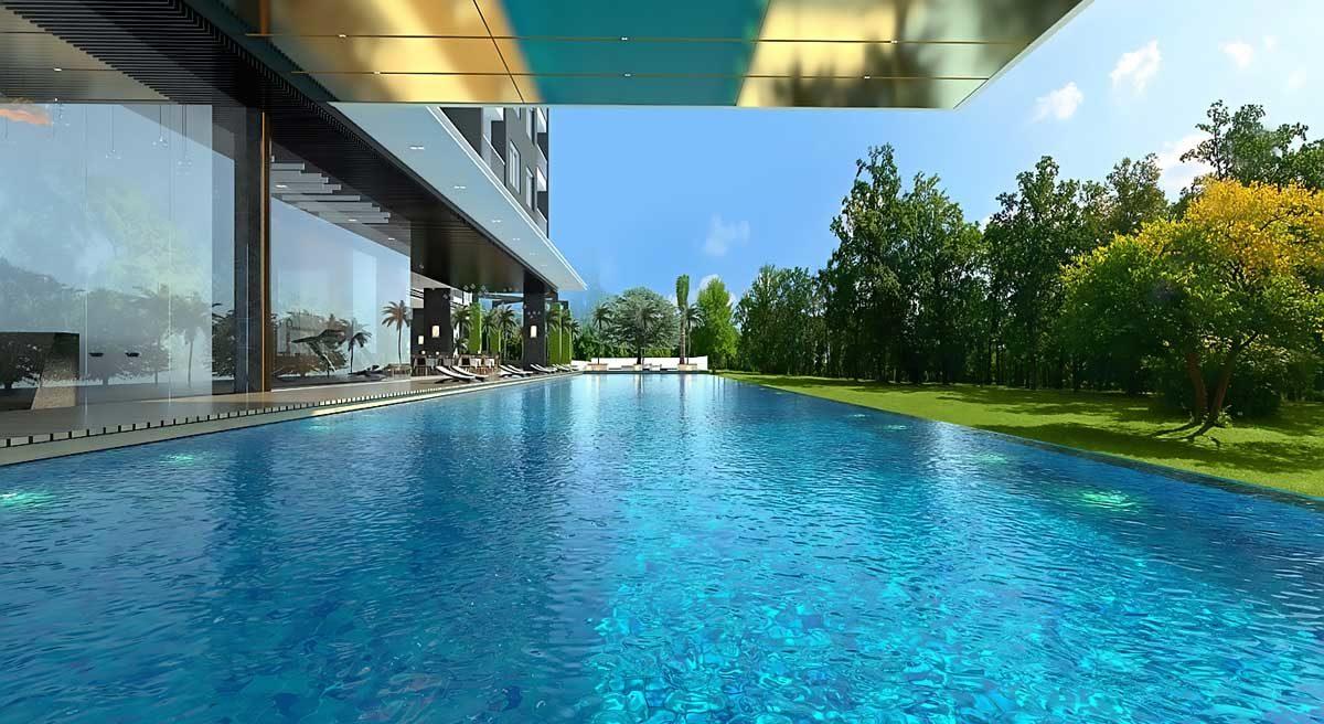 Hồ bơi Dự án Căn hộ West Gate Park Bình Chánh