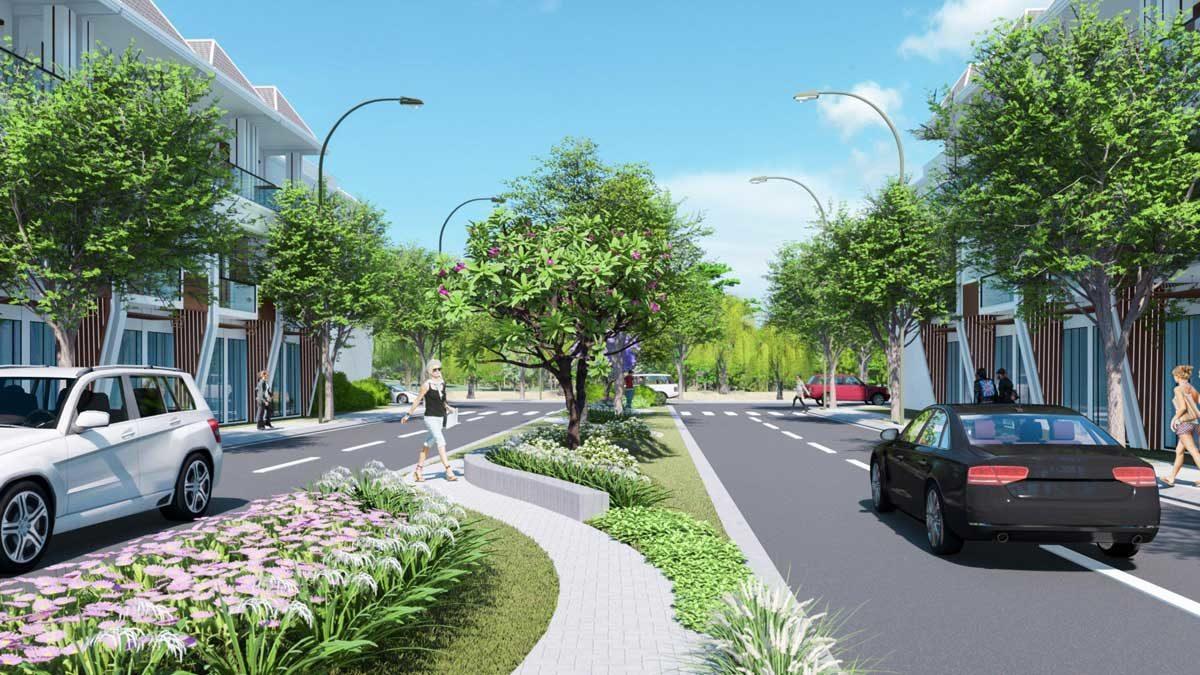 Công viên Dự án Khu đô thị Sao Vàng Long An