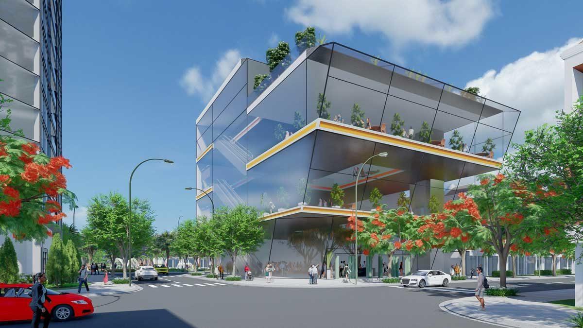 Khu Cafe - Bar Dự án Khu đô thị Sao Vàng Long An