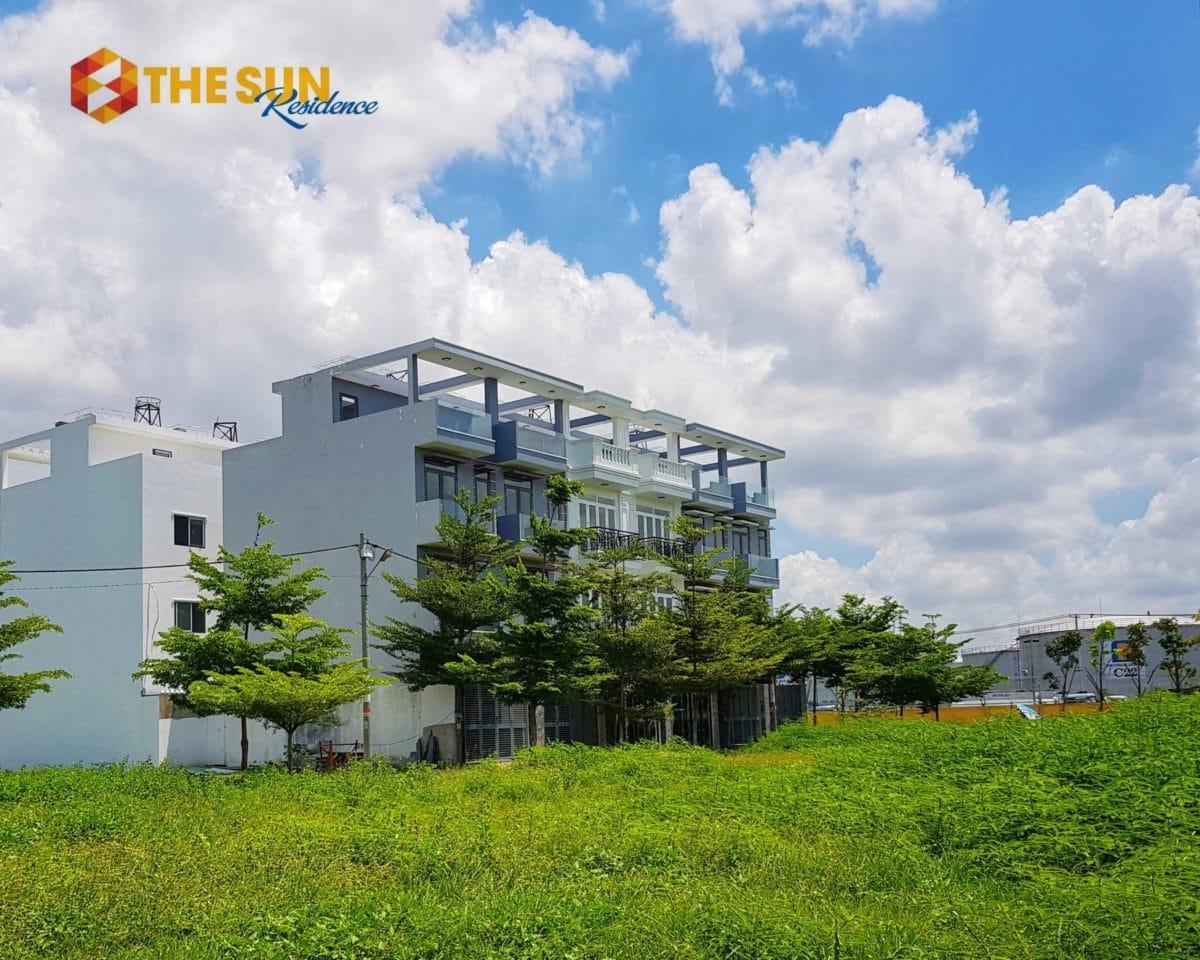 khu nha pho du an the sun residence nha be - DỰ ÁN THE SUN RESIDENCE NHÀ BÈ