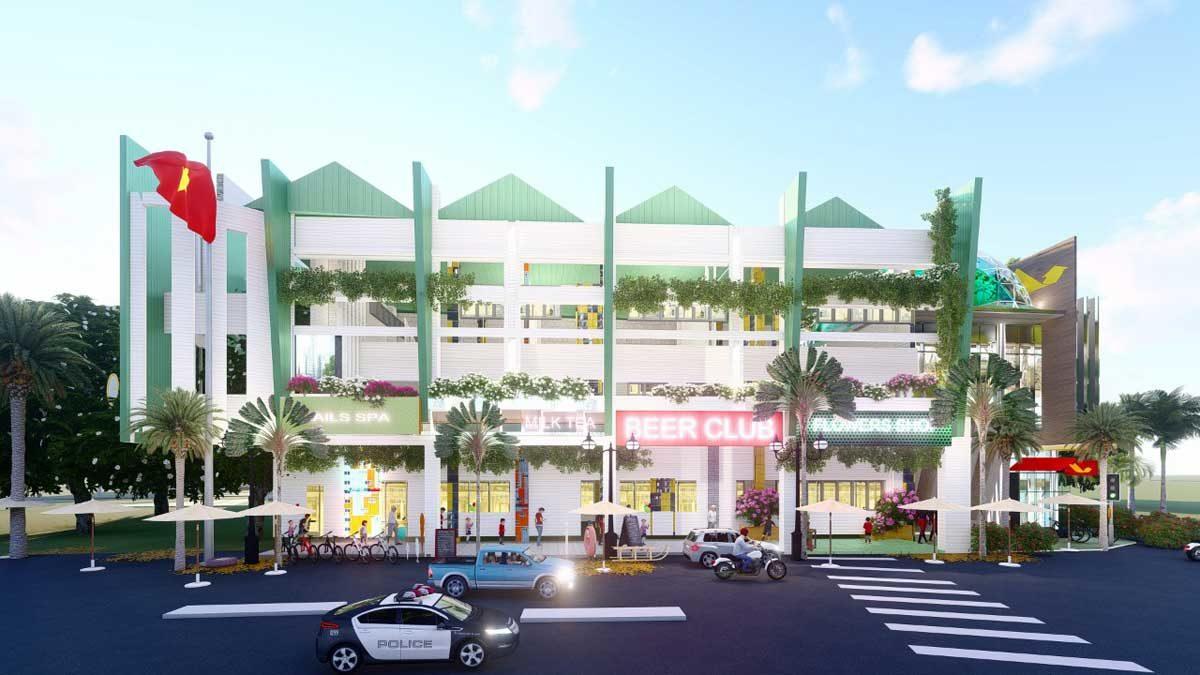 Khu thương mại Dự án Mega Mall Hồ Tràm