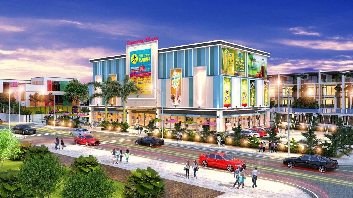 khu trung tam thuong mai diamond plaza - DỰ ÁN LOTUS NEW CITY CẦN ĐƯỚC LONG AN