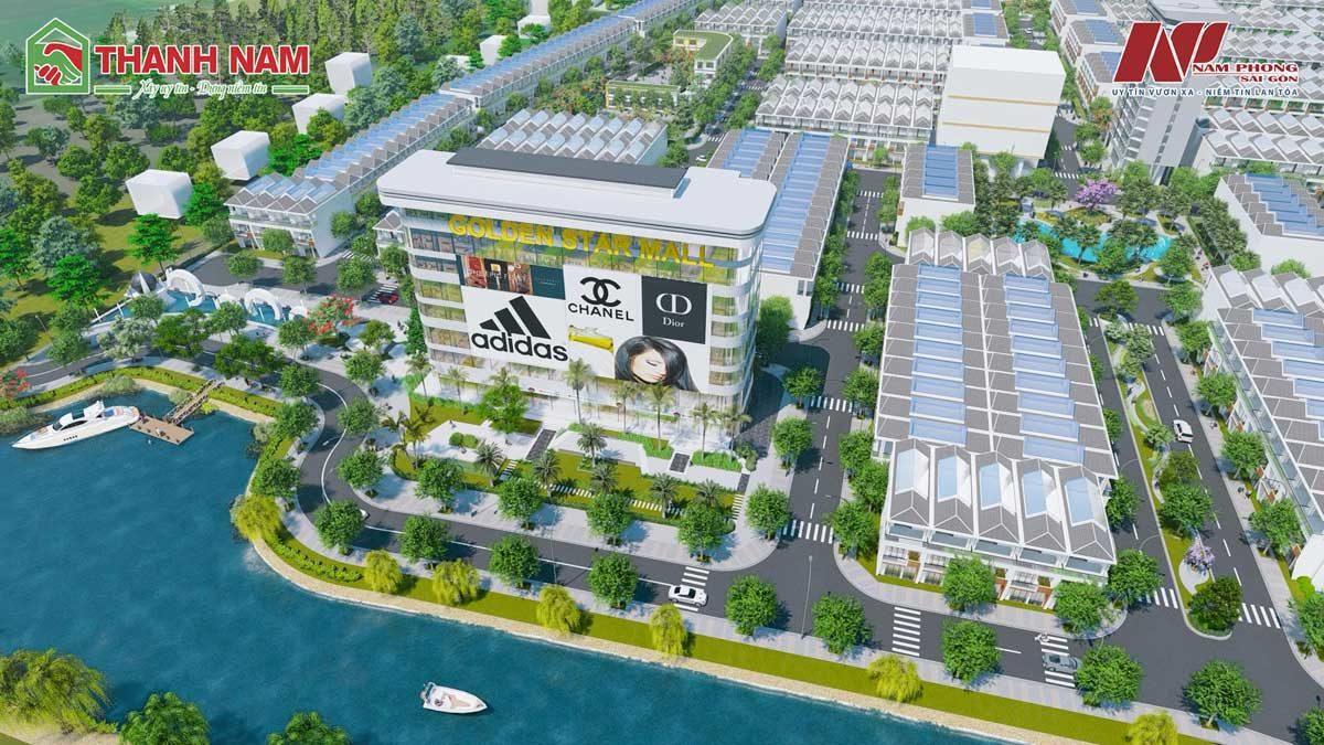 Khu trung tâm thương mại Golden Star Mall