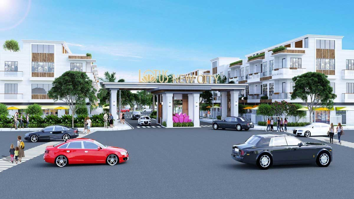 lotus new city - DỰ ÁN LOTUS NEW CITY CẦN ĐƯỚC LONG AN