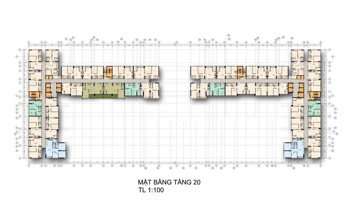 mat bang tang 20 - DỰ ÁN CĂN HỘ LA PREMIER QUẬN 2