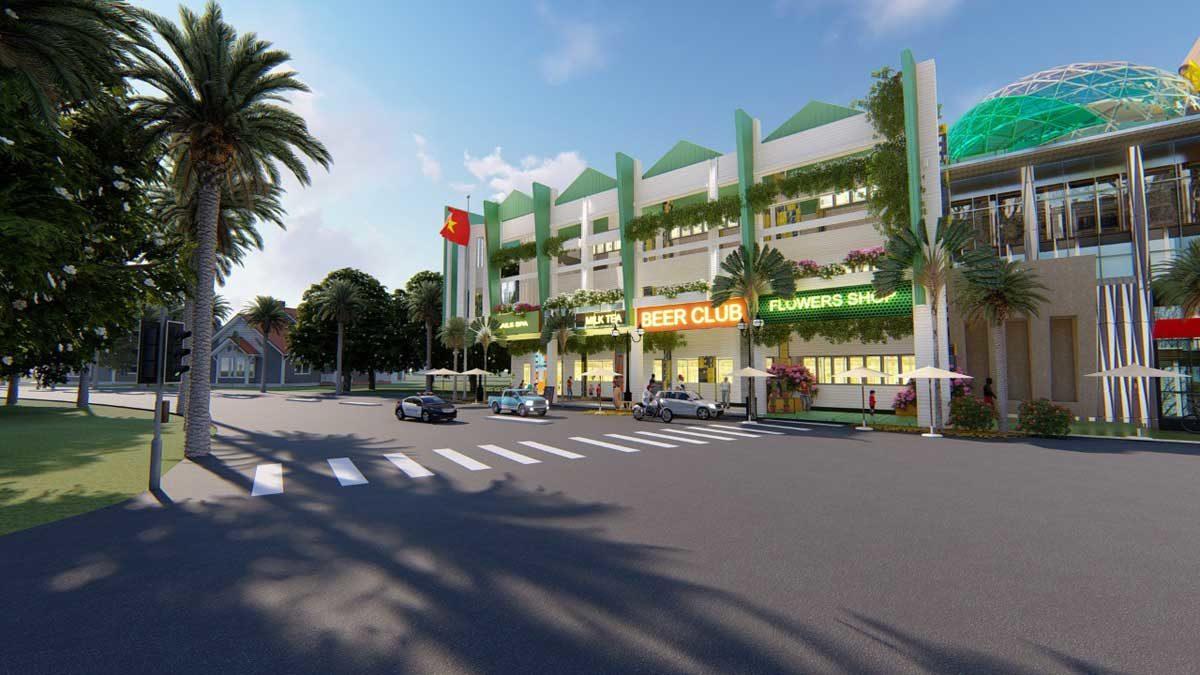 Khu phố thương mại Dự án Mega Mall Hồ Tràm