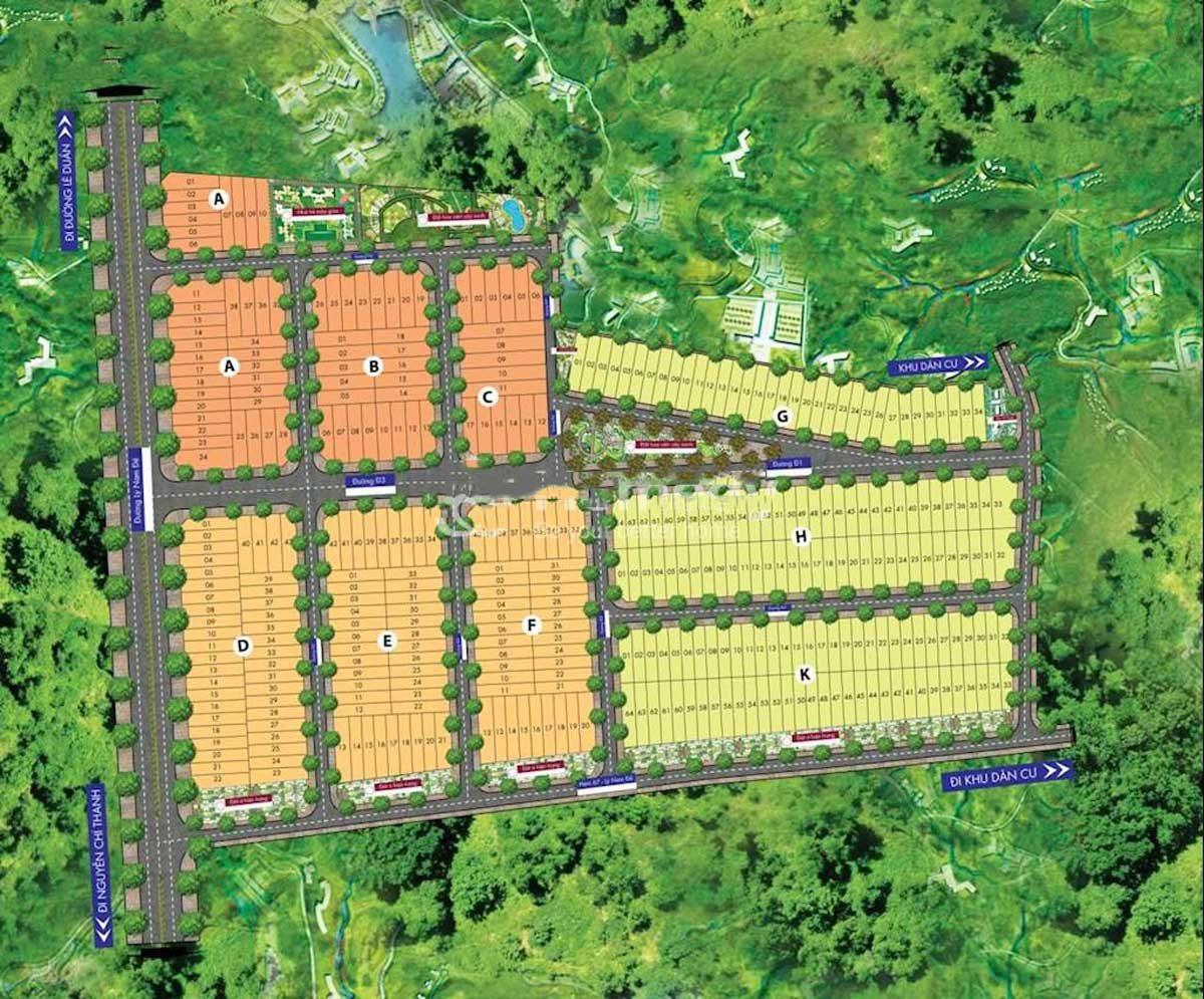 Dự án Khu đô thị SH Land Gia Lai