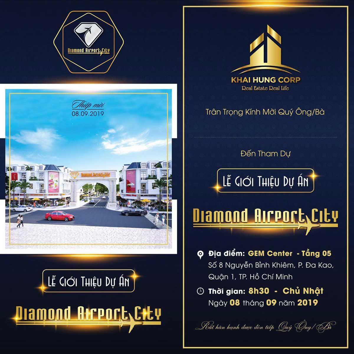 thiep moi mo ban du an diamond airport city - DỰ ÁN DIAMOND AIRPORT CITY LONG THÀNH ĐỒNG NAI
