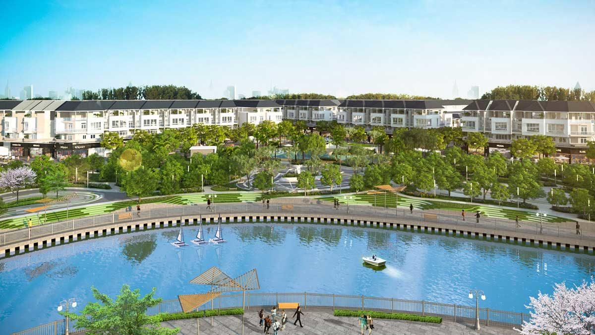 Công viên nội khu Dự án Văn Hoa Villas Biên Hòa Đồng Nai