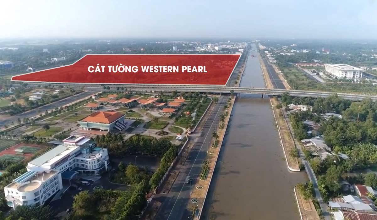 vi tri thuc te du an cat tuong western pearl - DỰ ÁN CÁT TƯỜNG WESTERN PEARL VỊ THANH HẬU GIANG