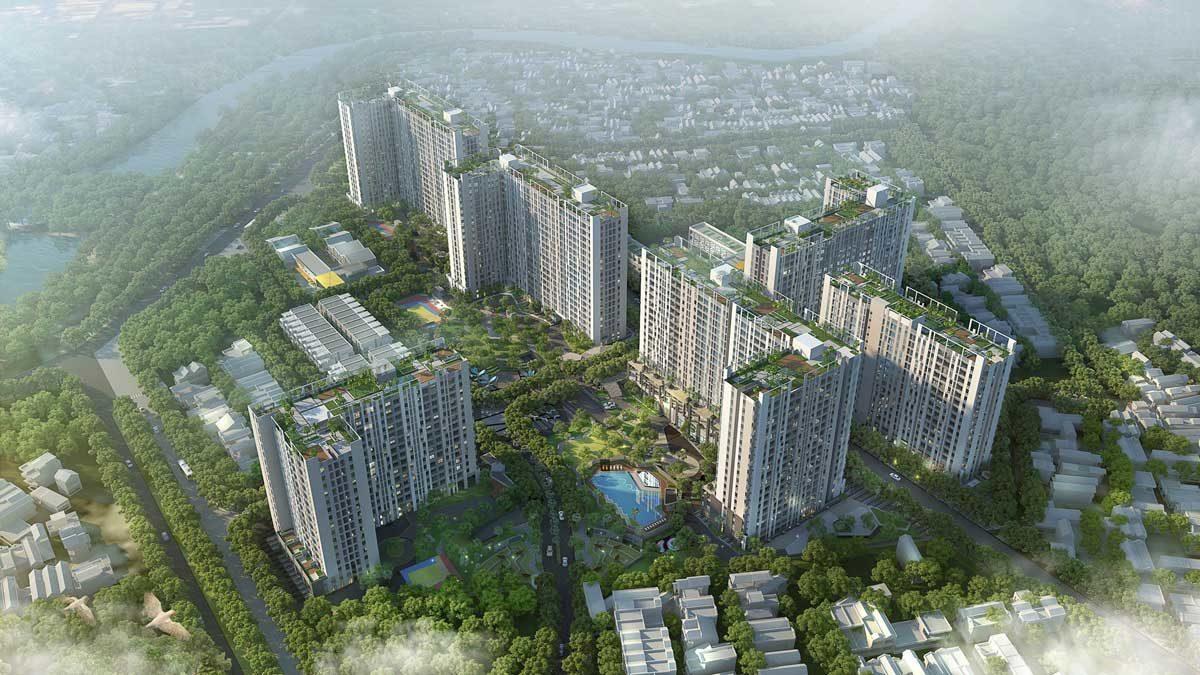 Belt Collins International thiet ke canh quan du an picity high park - GIỚI THIỆU BELT COLLINS INTERNATIONAL (HONGKONG)
