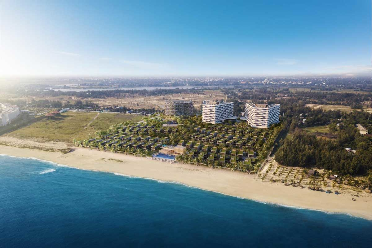 Phối cảnh Dự án Biệt Thự & Căn hộ Condotel Shantira Resort & Spa Hội An