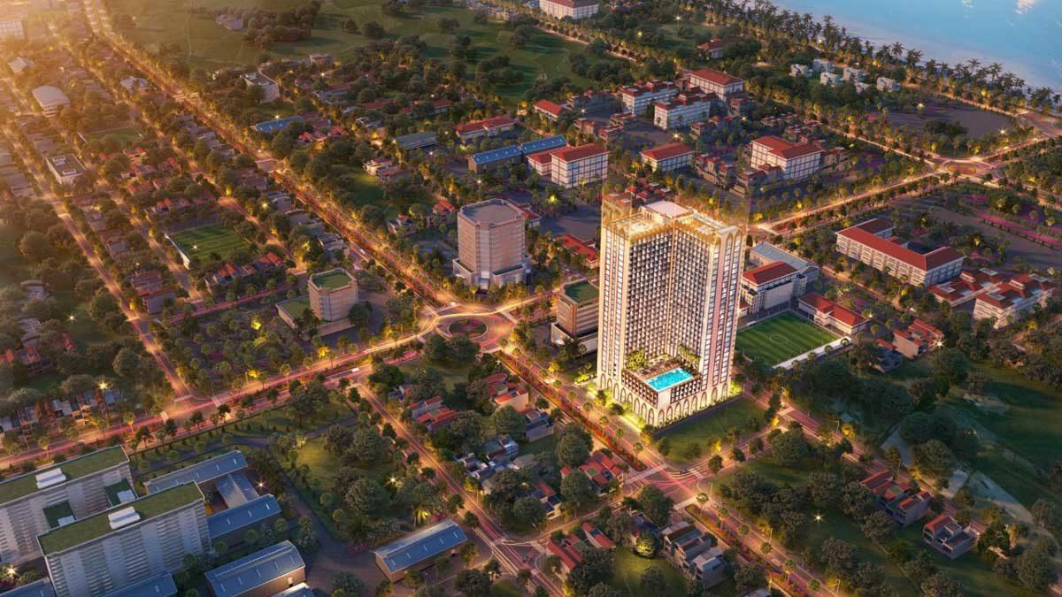 Phối cảnh Dự án Căn hộ Apec Mandala Grand Phú Yên