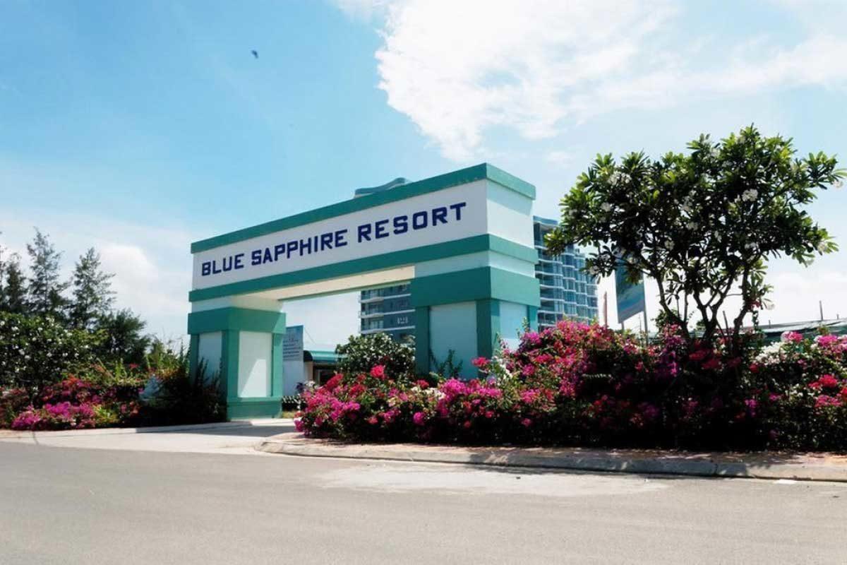 Cổng Dự án Căn hộ Condotel Blue Sapphire Vũng Tàu