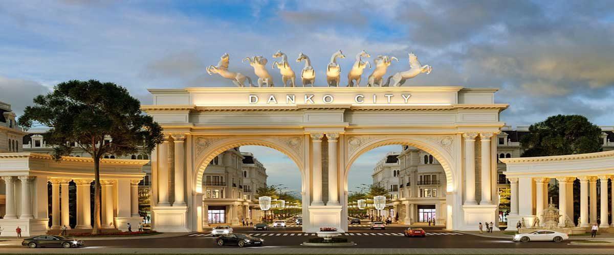 Cổng Dự án Khu đô thị Danko City Thái Nguyên trên Google Maps