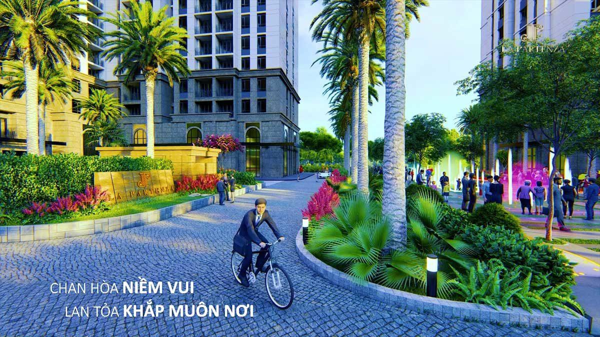Tiện ích Công viên nội khu Dự án Căn hộ LA Partenza Lê Văn Lương Nhà Bè