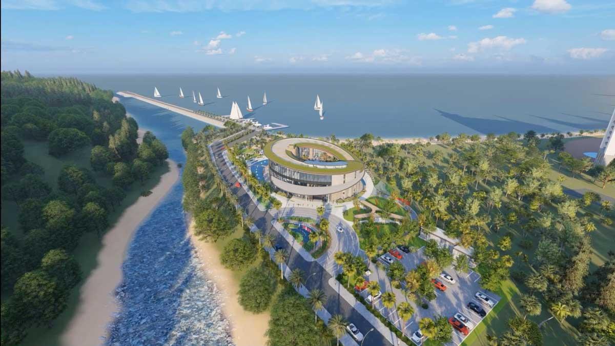 Phối cảnh Dự án Khu đô thị Giang Hải Bay Quy Nhơn