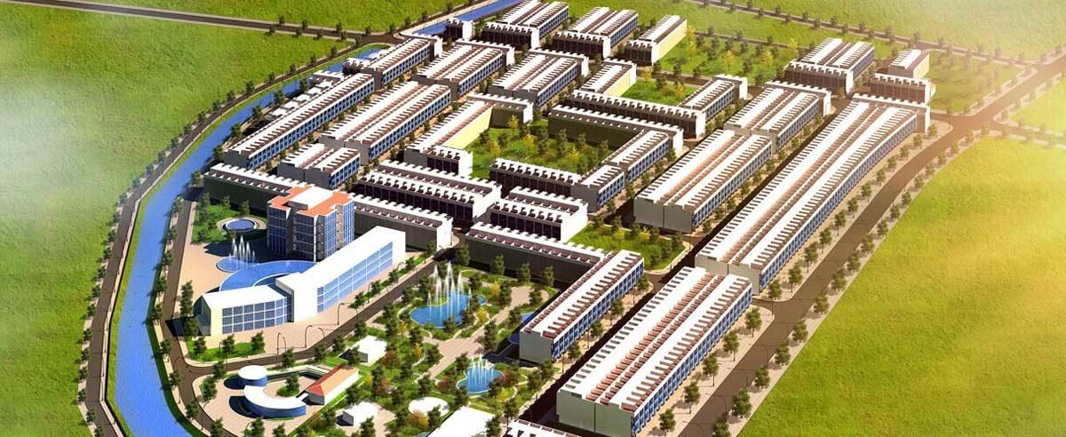 Phối cảnh Dự án Khu đô thị Danko City Thái Nguyên
