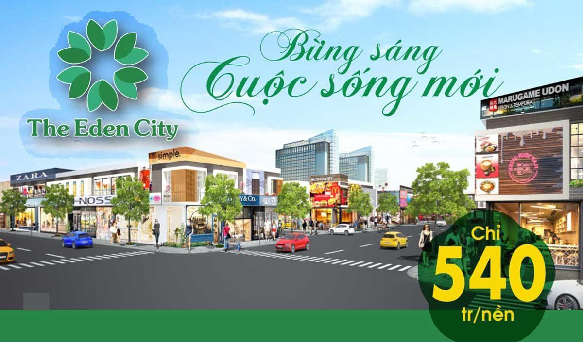 du an dat nen the eden city - DỰ ÁN THE EDEN CITY BÀU BÀNG BÌNH DƯƠNG