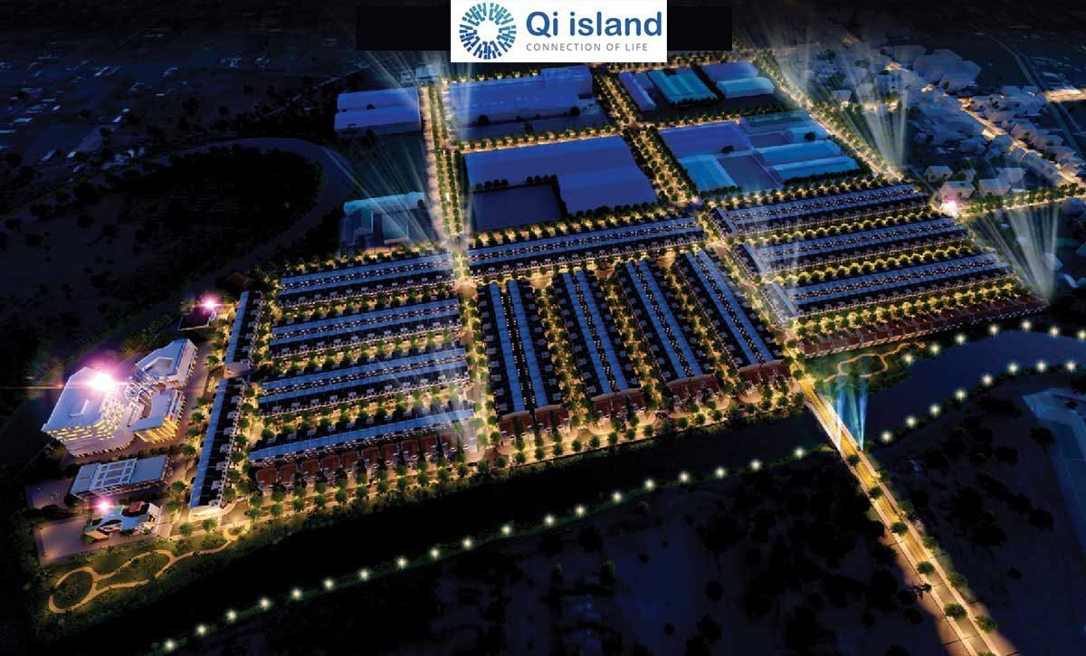 Phối cảnh Dự án Qi Island Ngô Chí Quốc Bình Dương