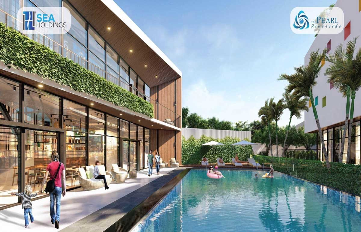 ho boi noi khu du an the pearl riverside long an - DỰ ÁN THE PEARL RIVERSIDE BẾN LỨC LONG AN