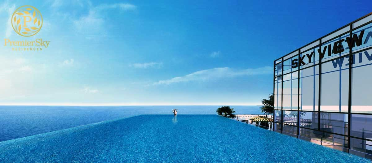 Hồ bơi Sky View tại Căn hộ Premier Sky Residences Đà Nẵng