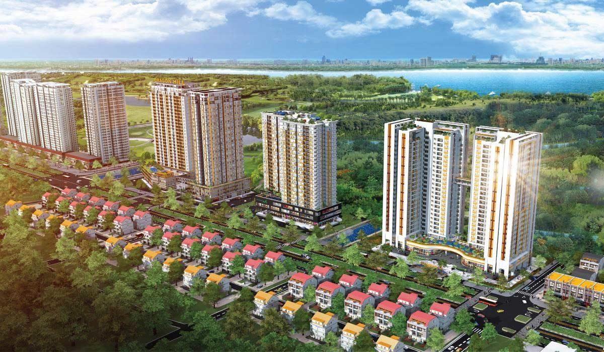 Phối cảnh Dự án Căn hộ Keppel Land Nguyễn Hữu Thọ Nhà Bè