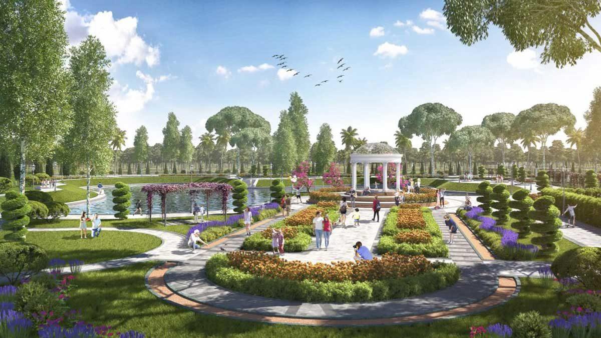 Khu công viên Dự án Khu đô thị Danko City Thái Nguyên