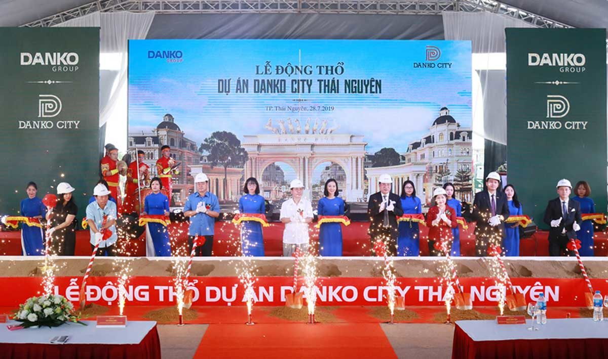 Lễ động thổ Dự án Khu đô thị Danko City Thái Nguyên