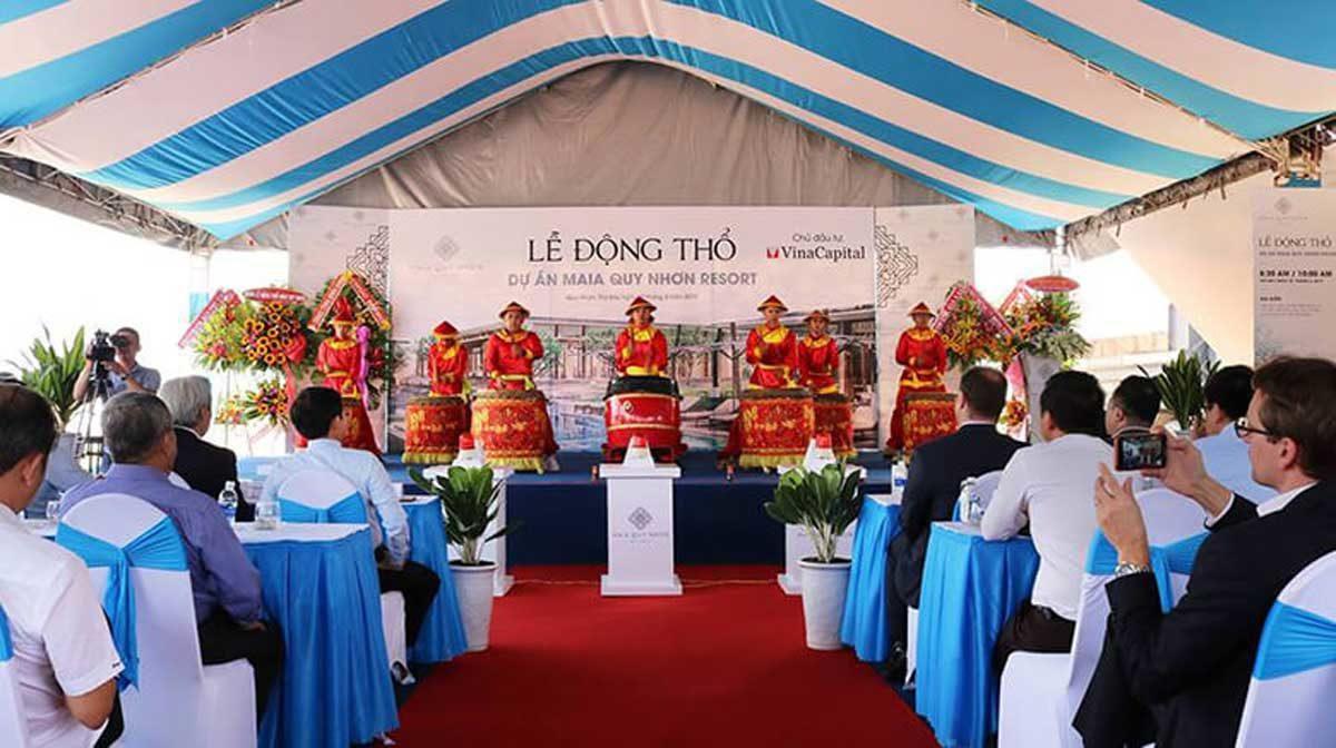 Lễ động thổ Dự án khu nghỉ dưỡng Maia Quy Nhơn Beach Resort