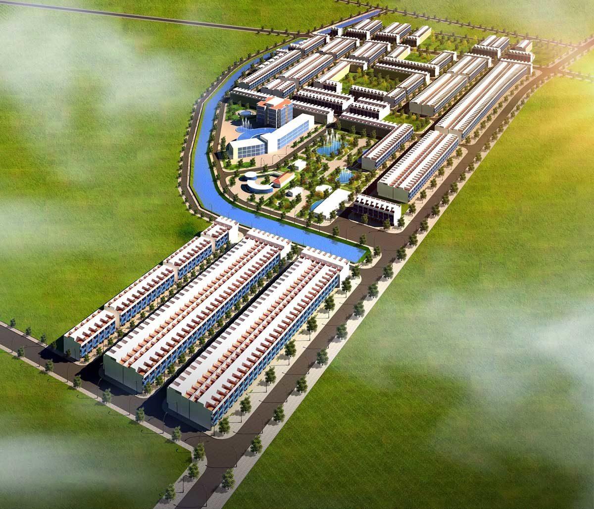 Mặt bằng Dự án Khu đô thị Danko City Thái Nguyên