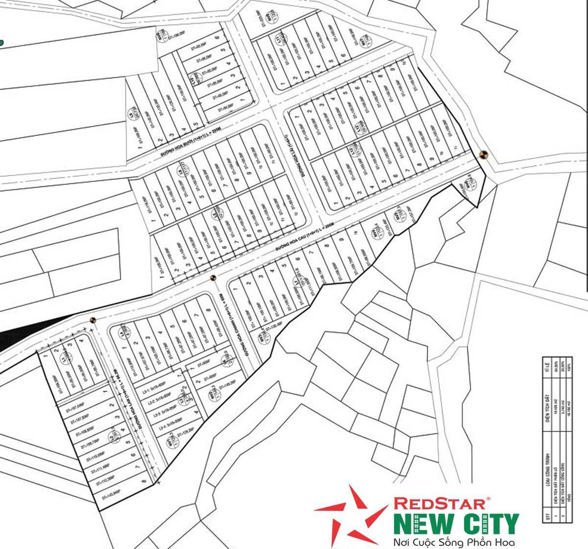 mat bang du an redstar new city - DỰ ÁN REDSTAR NEW CITY BÀ RỊA VŨNG TÀU