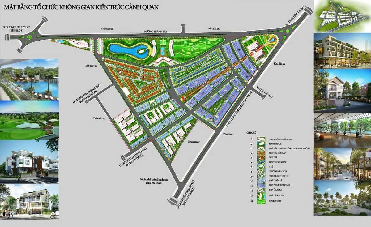 mat bang du an vistaria eco city - DỰ ÁN VISTARIA ECO CITY BUÔN MA THUỘT ĐẮK LẮK