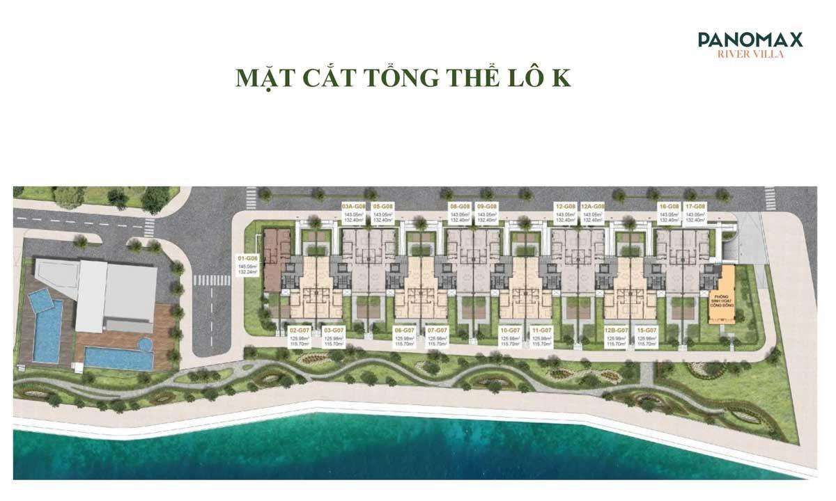 mat bang tong the block k Panomax River Villa - DỰ ÁN CĂN HỘ PANOMAX RIVER VILLA QUẬN 7