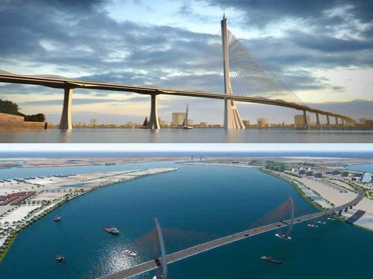 Cầu Cần Giờ được thiết kế hình cây Đước