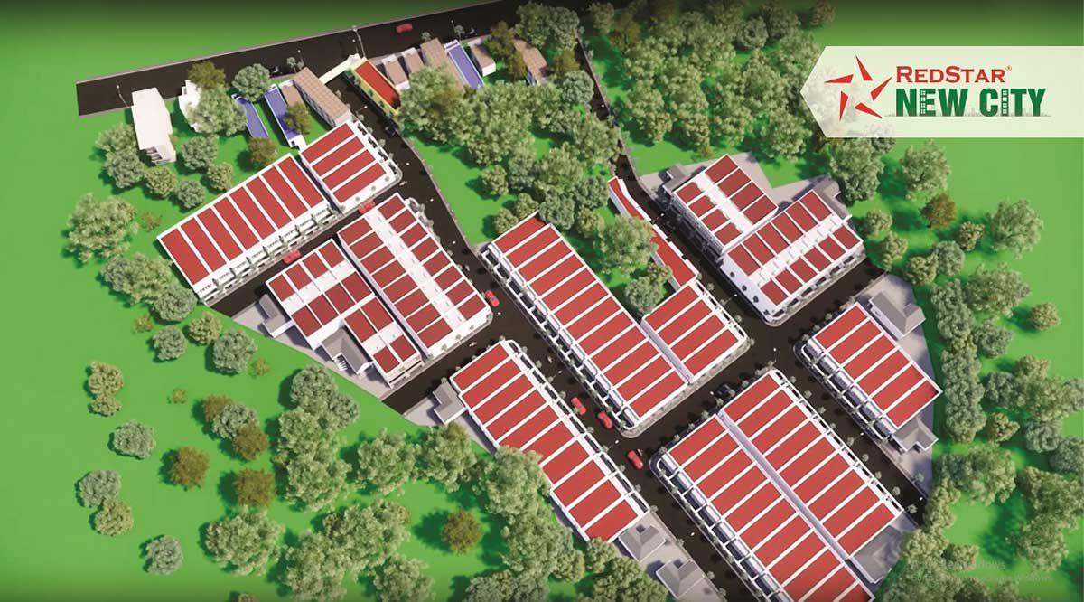 phoi canh du an redstar new city - DỰ ÁN REDSTAR NEW CITY BÀ RỊA VŨNG TÀU