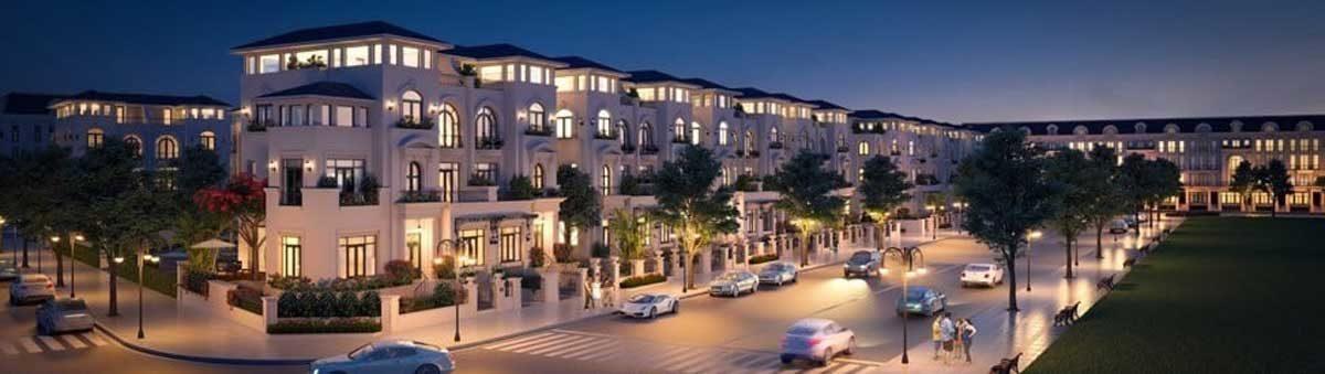 Phối cảnh nhà phố liên kế Dự án Khu đô thị Danko City Thái Nguyên